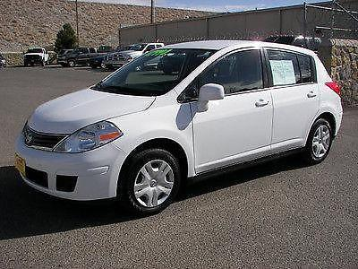 2011 Nissan Versa S Hatchback 4 Door 1.8L (white) Only