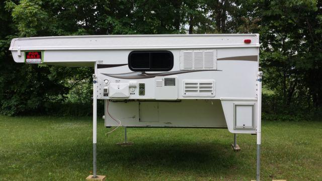 2011 Short Bed Truck Camper For Sale In Gladwin Michigan