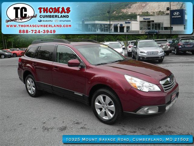 2011 subaru outback limited awd limited 4dr wagon for sale in cumberland maryland. Black Bedroom Furniture Sets. Home Design Ideas