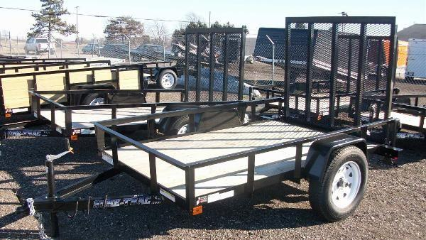2011 Sure-Trac Michigan 5x8 utility trailer for sale