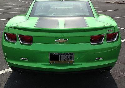 2011 synergy green camaro ss 2ss coupe 6 speed only 6500 miles for sale in lower makefield. Black Bedroom Furniture Sets. Home Design Ideas