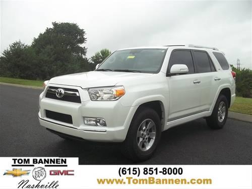 2011 toyota 4runner suv sr5 v6 4wd w sunroof for sale in am qui tennessee classified. Black Bedroom Furniture Sets. Home Design Ideas