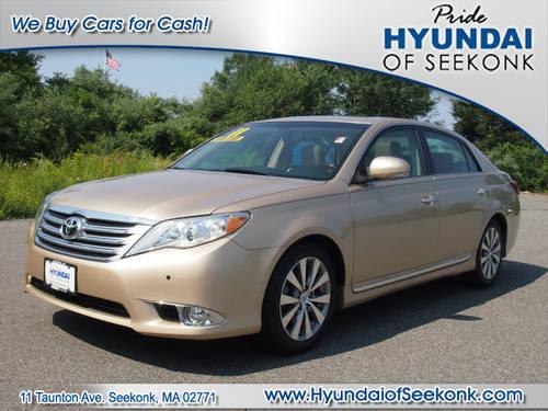 2011 toyota avalon 4 dr sedan limited for sale in seekonk. Black Bedroom Furniture Sets. Home Design Ideas