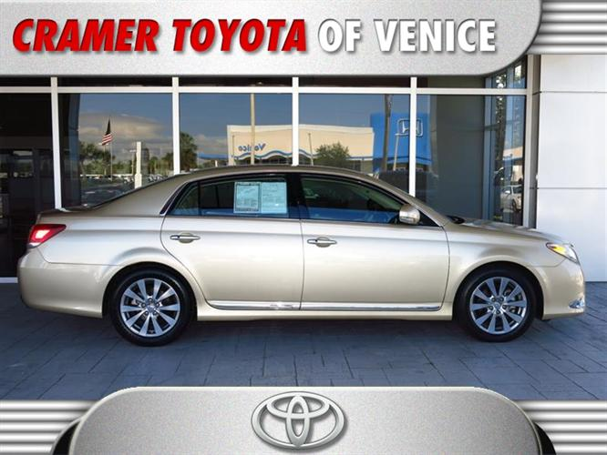 2011 toyota avalon limited venice fl for sale in venice florida classified. Black Bedroom Furniture Sets. Home Design Ideas