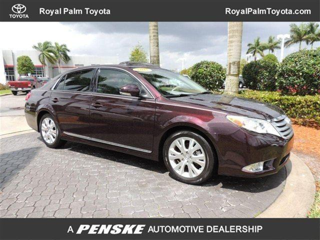 2011 toyota avalon sedan sedan for sale in west palm beach florida classified. Black Bedroom Furniture Sets. Home Design Ideas