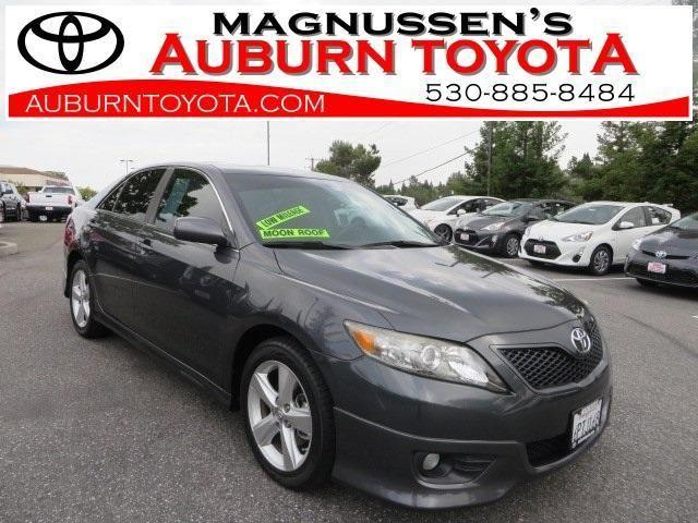 2011 toyota camry 4d sedan se for sale in auburn california classified. Black Bedroom Furniture Sets. Home Design Ideas