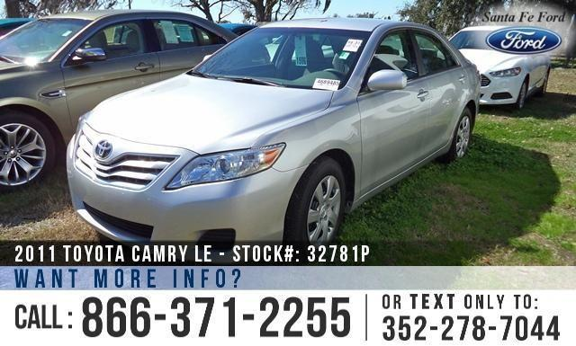 2011 Toyota Camry LE - AM/FM/CD - Cruise Control