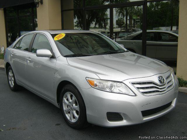 2011 toyota camry le package automatic gas card speical sale prices by j r only for sale in. Black Bedroom Furniture Sets. Home Design Ideas