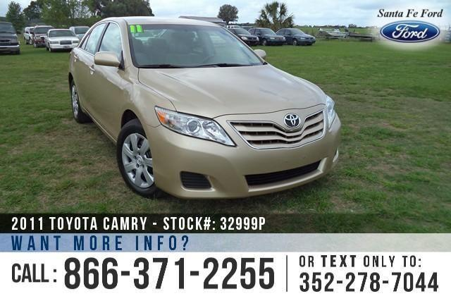 2011 Toyota Camry LE - Warranty - Tinted Windows