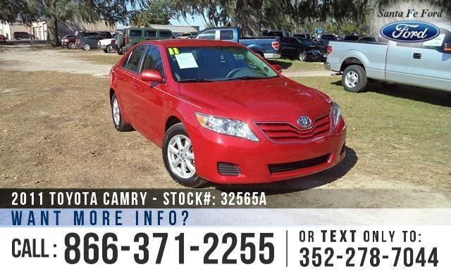2011 toyota camry se warranty keyless entry for sale in alachua florida classified. Black Bedroom Furniture Sets. Home Design Ideas