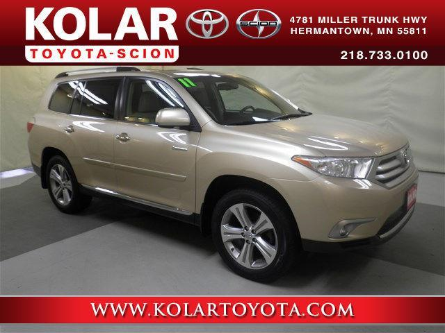2011 Toyota Highlander Limited AWD Limited 4dr SUV for ...