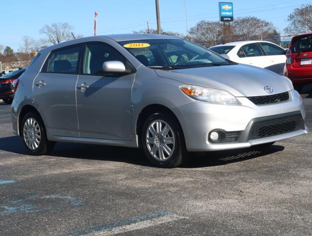 2011 Toyota Matrix Base Base 4dr Wagon 5M