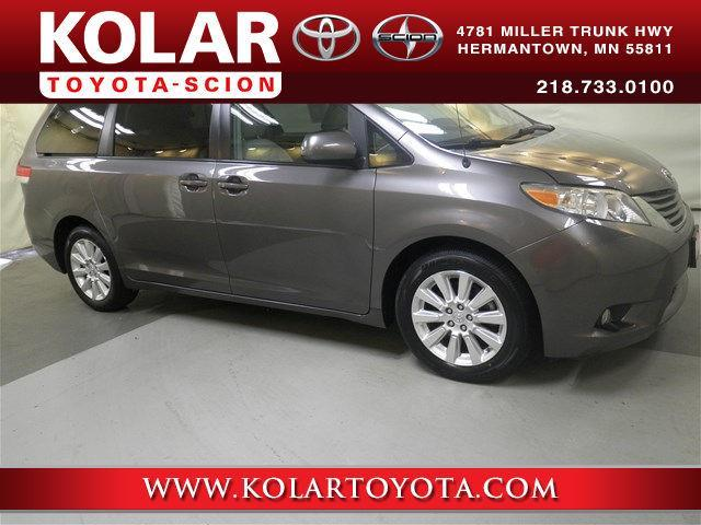 2011 Toyota Sienna XLE 7-Passenger AWD XLE 7-Passenger