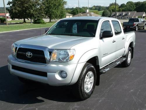 2011 toyota tacoma crew cab pickup prerunner crew cab 4x2 for sale in sweetwater tennessee. Black Bedroom Furniture Sets. Home Design Ideas