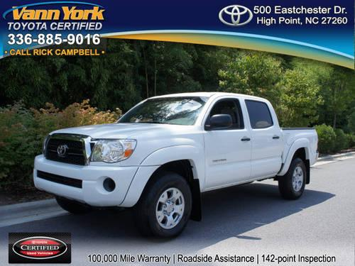 2011 toyota tacoma double cab prerunner for sale in high point north carolina classified. Black Bedroom Furniture Sets. Home Design Ideas