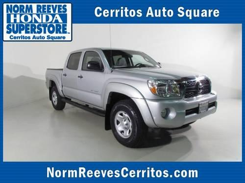2011 toyota tacoma pickup truck 2wd double v6 at prerunner for sale in artesia california. Black Bedroom Furniture Sets. Home Design Ideas