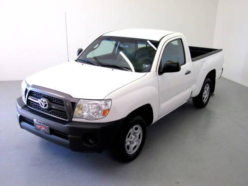 2011 toyota tacoma regular cab 2wd white manual 46k miles for sale in rockwall texas. Black Bedroom Furniture Sets. Home Design Ideas