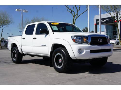 2011 Toyota Tacoma Truck Double Cab Prerunner V6 Tx Pro For Sale In Phoenix Arizona Classified