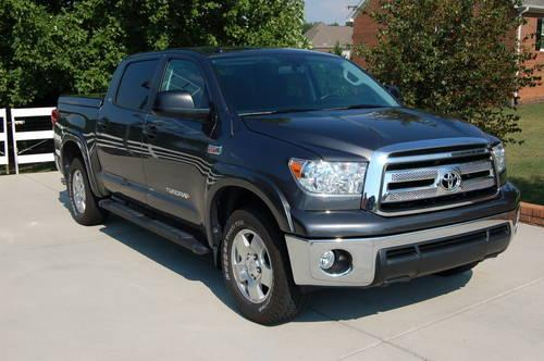 2011 toyota tundra crewmax sr5 4x4 magnetic grey metallic for sale in greensboro north. Black Bedroom Furniture Sets. Home Design Ideas