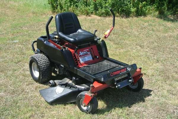2011 Troy Bilt Colt Xp Zero Turn Riding Lawn Mower For