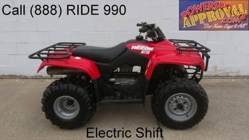 Honda 250 Electric Shift