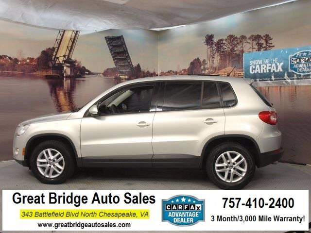 2011 Volkswagen Tiguan S 4Motion S 4Motion 4dr SUV