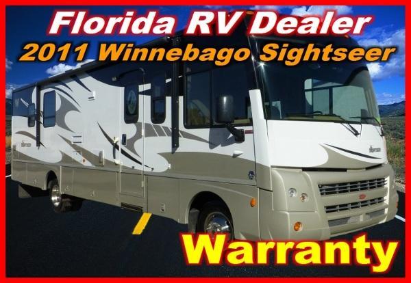 2011 winnebago sightseer 31e for sale in port charlotte florida classified. Black Bedroom Furniture Sets. Home Design Ideas