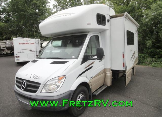 2011 winnebago view 24j mercedes benz sprinter chassis for Mercedes benz rv used
