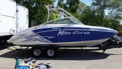 2011 yamaha ar240 low hours blue jet boat for sale in for Yamaha jet boat for sale florida