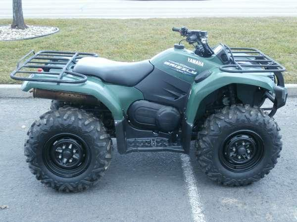 2011 yamaha grizzly 450 auto 4x4 eps for sale in meridian for Yamaha grizzly 450 for sale