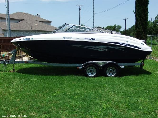 2011 yamaha sx 210 for sale in grey forest texas for Yamaha sx210 boat cover