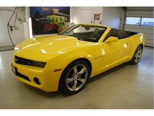 2011 chevrolet camaro convertible 2dr conv 2lt for sale in cuyahoga falls ohio classified. Black Bedroom Furniture Sets. Home Design Ideas