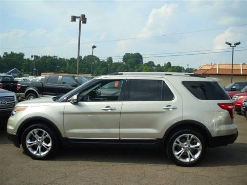 2011 ford explorer limited 4d sport utility. Black Bedroom Furniture Sets. Home Design Ideas