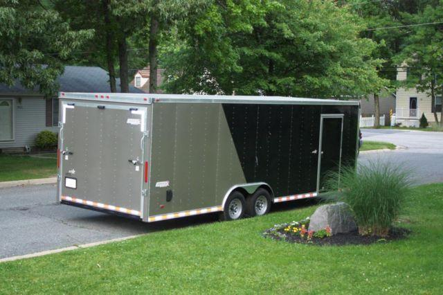 2012 24' Enclosed Car Hauler