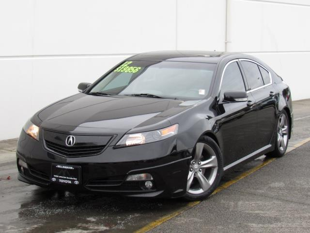 2012 Acura TL SH-AWD w/Tech SH-AWD 4dr Sedan 6A