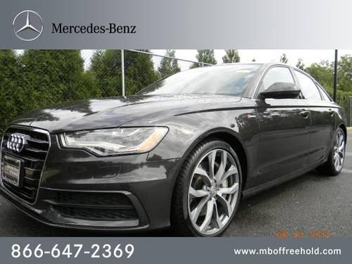 2012 audi a6 sedan 4dr sdn quattro 3 0t prestige for sale. Black Bedroom Furniture Sets. Home Design Ideas