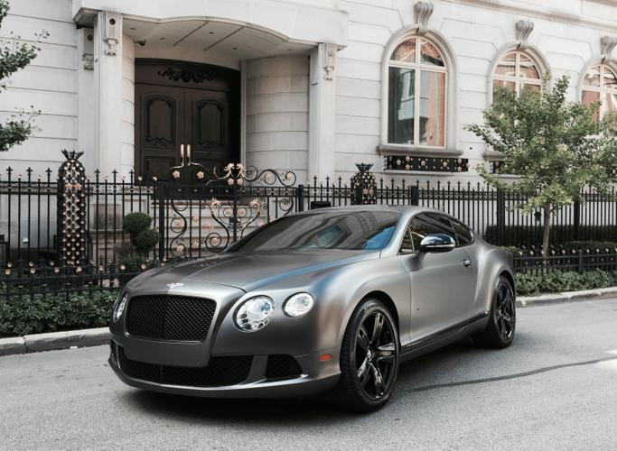 2012 Bentley Continental GT GT Coupe 2-Door