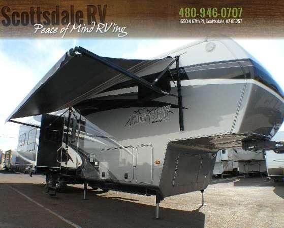 2012 Big Sky 3800re Fifth Wheels For Sale In Scottsdale