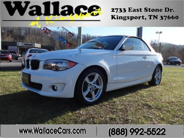All American Auto Sales Kingsport Tn: 2012 BMW 128i Convertible Convertible For Sale In