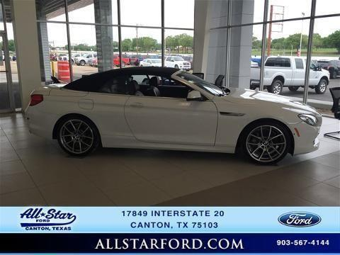 2012 BMW 6 SERIES 2 DOOR CONVERTIBLE