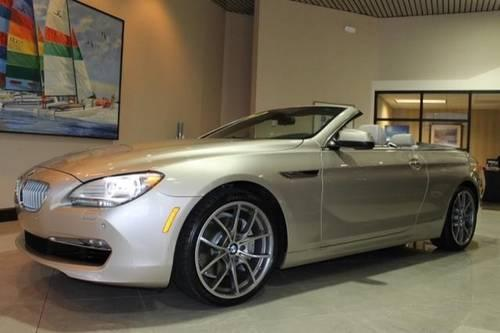 2012 bmw 6 series convertible 650i for sale in saint petersburg florida classified. Black Bedroom Furniture Sets. Home Design Ideas