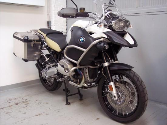 2012 BMW R1200GSA, 8380 mi., White, excellent condition