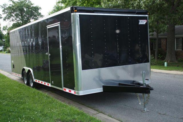 2012 Bravo 24' Enclosed Car Hauler