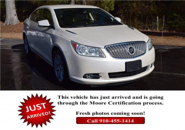 2012 Buick LaCrosse Leather Leather 4dr Sedan