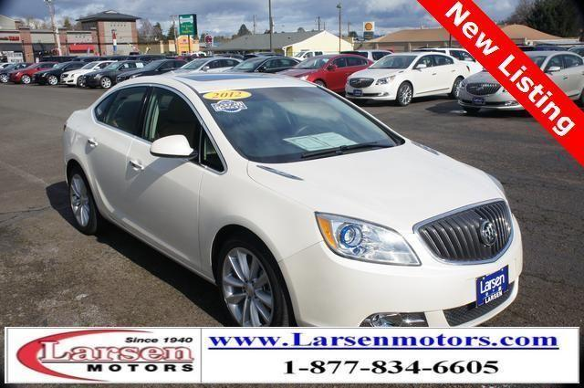 2012 buick verano 4d sedan leather group for sale in for Larsen motors mcminnville oregon