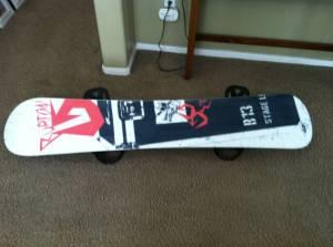 2012 Burton canyon 159 snow board - $450 (oakdale)