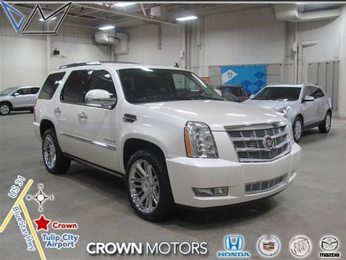 2012 cadillac escalade suv platinum edition for sale in. Black Bedroom Furniture Sets. Home Design Ideas