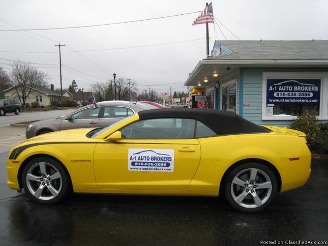 2012 camaro convertible 2ss pkg for sale in goodrich michigan. Cars Review. Best American Auto & Cars Review