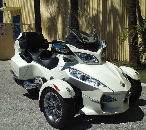 2012 Can Am Spyder Rt Limited For Sale In Miami Florida