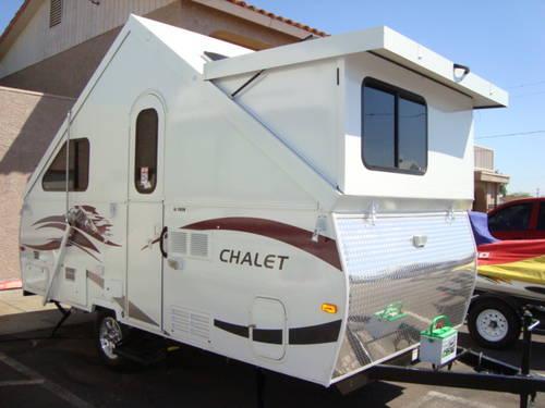 2012 Chalet XL 1938 Folding Camper Trailer - Half Ton